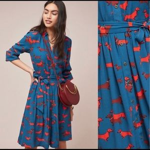 Anthropologie Colloquial Hot Dogs Dress